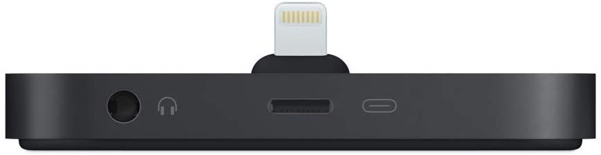 Apple iPhone Lightning Dock Black - 1