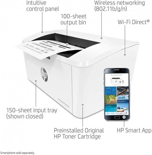 HP LJ Pro M15w - 7