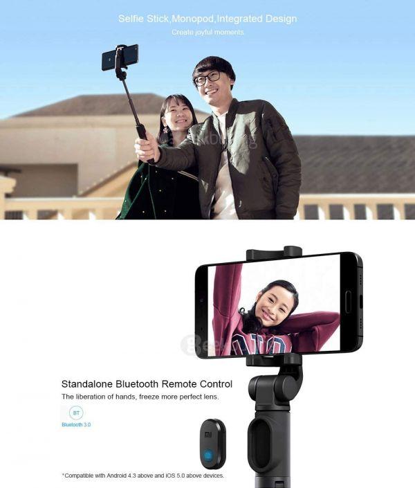 Mi Selfie Stick Tripod - 1