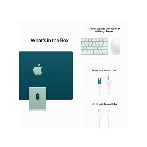 Apple iMac MJV83 (2021)(Green) - 1