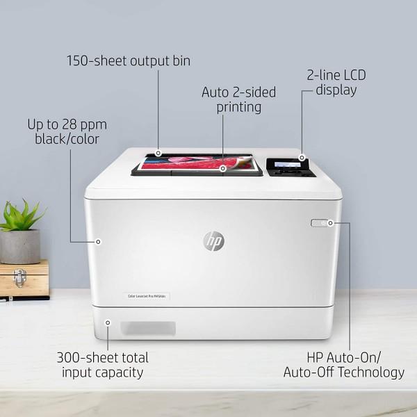 HP Color LJ Pro M454DN  - 3