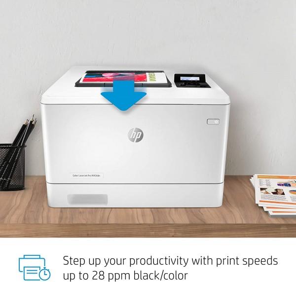 HP Color LJ Pro M454DN  - 1