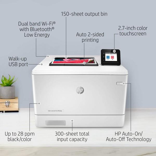 HP Color LJ Pro M454DW  - 5
