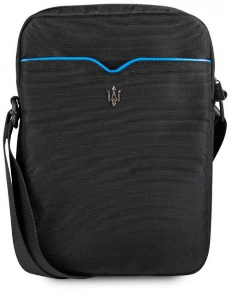 "Maserati Tablet Bag 10""(Black/Blue Line) - 18471"